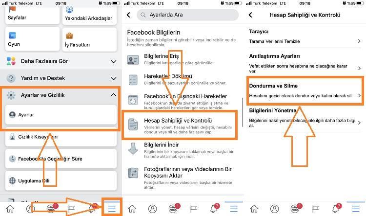 Facebook Hesabı Nasıl Silinir -  Facebook Hesabı Kapatma